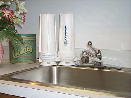 Aquaspace Water Filters U003cbru003e(Countertop U0026 Under Sink)