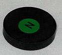 """1.25"""" x .250"""" Ceramic Magnet"""