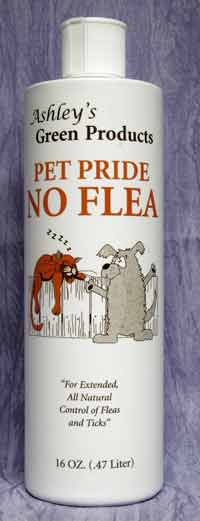 Ashley's Green Nontoxic Flea Treatment