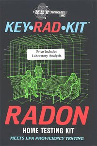 Keyrad Radon Home Testing Kit
