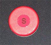 """1"""" x .250"""" Neodymium Round """"Super Magnet"""" in Plastic Case"""