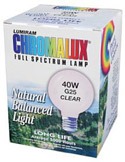 Chromalux 40-Watt Globe, Six-Pack