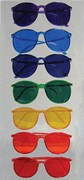 Color Therapy Glasses,  Set of 7