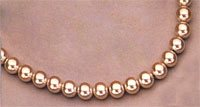 Magnetic Necklace, Faux Pearl
